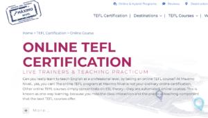maximonivel.com tefl online certification