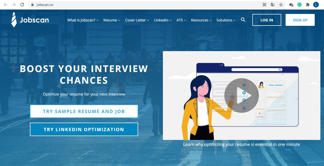 Jobscan website
